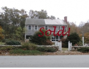 House listing at Mendell Rd., Rochester, MA Sold