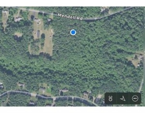 aerial view of 0 Mendell Rd, Rochester, MA